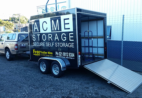 an acme trailer example